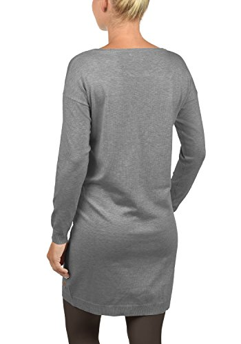Fine Vestiti In Con Melange Girocollo Desires Grey Da Ella Vestito 8236 nbsp; Maglia Donna xzqXfIEXw