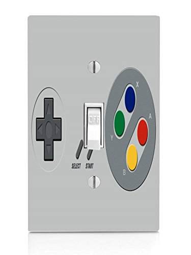 Game Controller Light Switch Plate