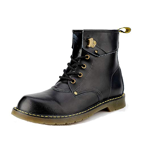 Men's Motorcycle Boots Martin Shoes Snow Ankle High Top Boots