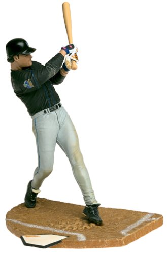 McFarlane Toys MLB Sports Picks Series 1 Action Figure Mike Piazza York Mets Black Jersey ()