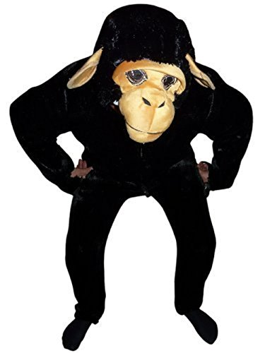 Sister Wife Halloween Costume (Fantasy World Monkey Costume Halloween f. Men and Women, Size: M/ 08-10, F84)