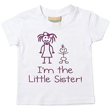 60 Second Makeover Limited Im The Little Schwester Im The Big Schwester T-Shirt Set Baby Kleinkind Kinder Verf/ügbar in den Gr/ö/ßen 0-6 Monate Neu Baby Schwester Geschenk