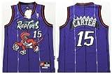 Vince Carter #15 Toronto Raptors Purple Throwback Jersey by NBA