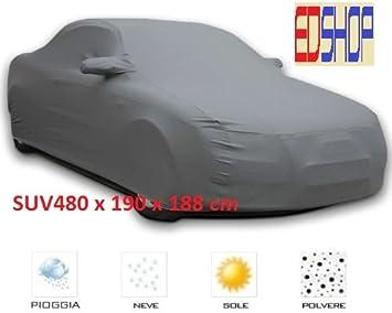 PER BMW X5 TELO COPRIAUTO FELPATO IMPERMEABILE ANTIGRAFFIO AUTO TG XXL 572X203X122CM COPERTURA UNIVERSALE