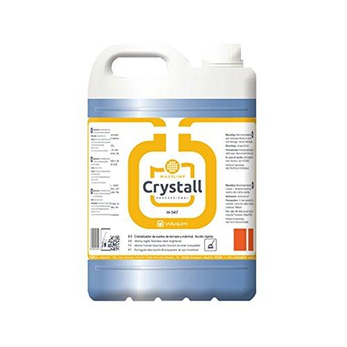 Cristalizador de Suelos de Terrazo y Mármol Formato 5 Litros Industrial, Especial para ABRILLANTAR SUELOS, Producto indicado para el cristalizado rápido de ...