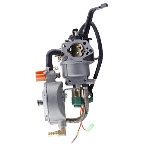 HIPA Generator Dual Fuel Carburetor LPG CNG Conversion kit 4.5-5.5KW GX390 188F Manual Choke ()