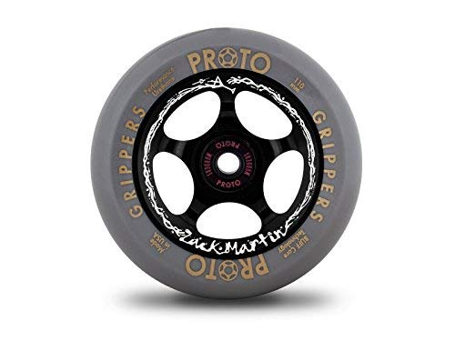 Proto Gripper Zack Martin Wasted Signature Wheels black/gray - 110mm (Pair)