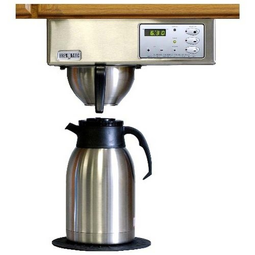 Brewmatic Built-In Coffee Maker - Digital Controls (Brushed Stainless Steel) (7'H x 13'W x 7.5'D)