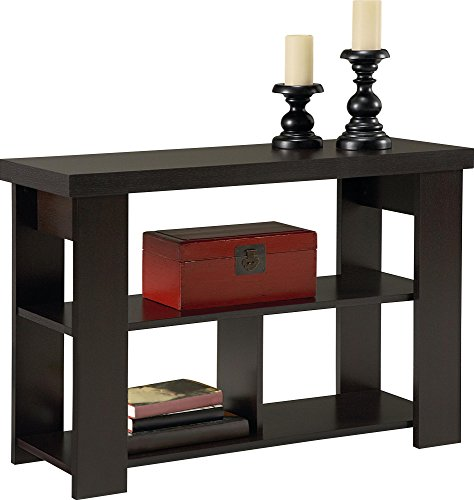 Ameriwood Home Jensen Console Table, Espresso (Table Bedroom Console)
