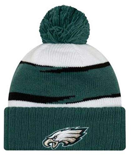 New Era 2018 Mens NFL Thanksgiving Day Knit Hat (Philadelphia Eagles)