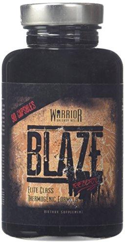 Warrior Blaze – Fat Burner Thermogenic – High Caffeine – 90 Capsules | Warrior Supplements