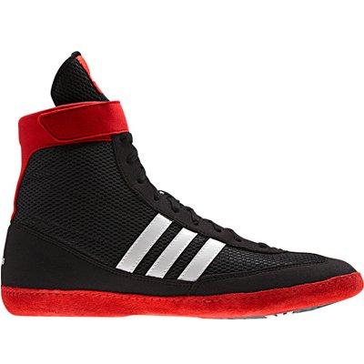 Adidas adultos botas de lucha libre velocidad de combate IV de lucha, Black/Red/White, G96428 Talla:46 2/3
