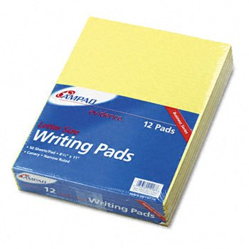 Ampad® Evidence® Writing Pads PAD,NARROW RULED,LTR,CAN FEL9904701 (Pack of 5) by Ampad