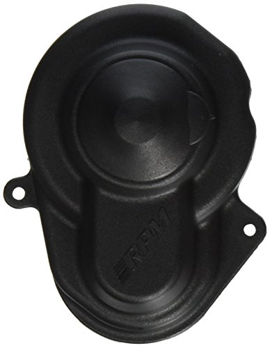 Gear Cover (RPM Traxxas Sealed Gear Cover, Black)