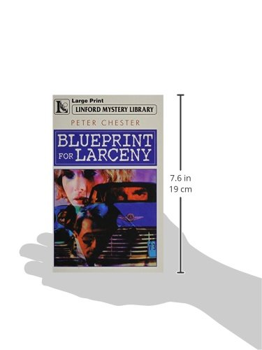 Blueprint for larceny lin linford mystery library peter chester blueprint for larceny lin linford mystery library peter chester 9780708999684 amazon books malvernweather Images
