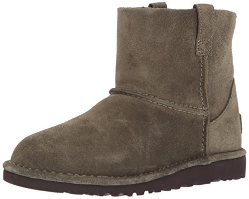 UGG Women's Classic Unlined Mini Slouch Boot, Spruce, 9 M US (Ugg Leather Boots)