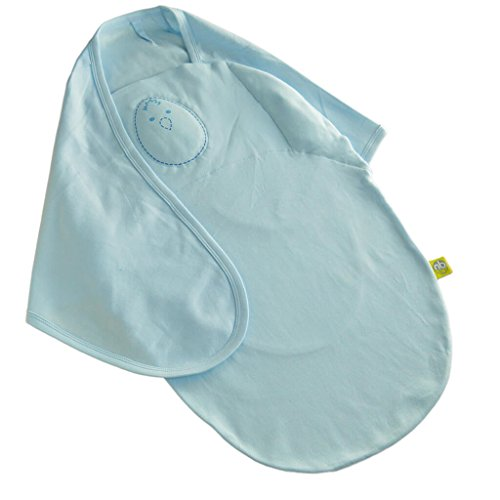 Nested Bean 2-in-1 Zen Swaddle Classic - Powder Blue