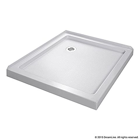 DreamLine SlimLine 32 in. x 32 in. Double Threshold Shower Base, DLT-1032320 (Shower Pan Floor)