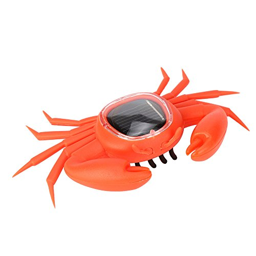 New Solar Powered Creative Animal Gadget Brain Game  Garden Home Decor  Kids Educational Toys By Xander  Crab