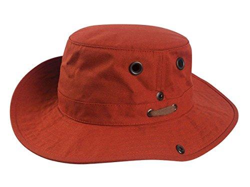 (Tilley Hats T3-Wanderer Men's Hat, Rust - 7-1/8 )