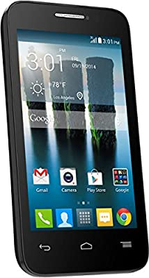 Alcatel One Touch Evolve 2 Black GSM International Unlocked Android Smartphone- No Contract (Unlocked) Any GSM network WORLDWIDE !!