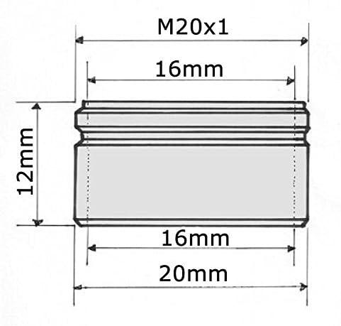 /économiser 70/% deau 4L min Appuyez sur a/érateur 20mm filetage ext/érieur