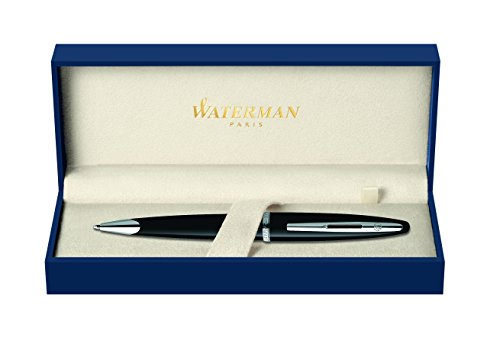 Waterman Carene Black Sea, Ballpoint Pen with Medium Blue refill (S0293950)