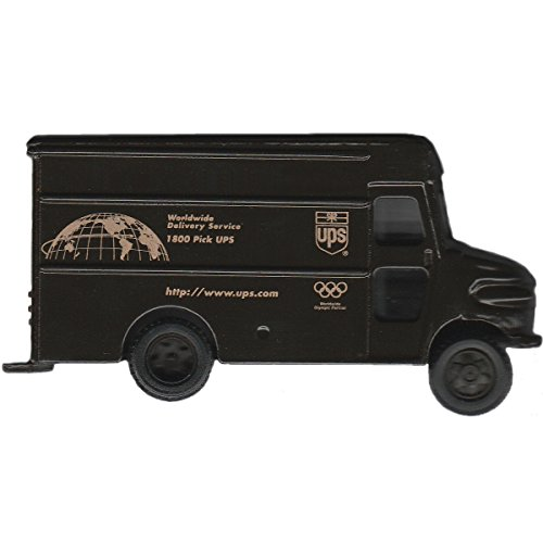 United Parcel Service UPS Diecast Metal Truck Package Car