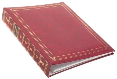 Pioneer APS 3-Ring Bi-Directional Le Memo Album, Burgundy by Pioneer Photo Albums