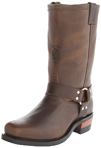 Chippewa Mens 12 Snip-toe 97868 Stivale Marrone