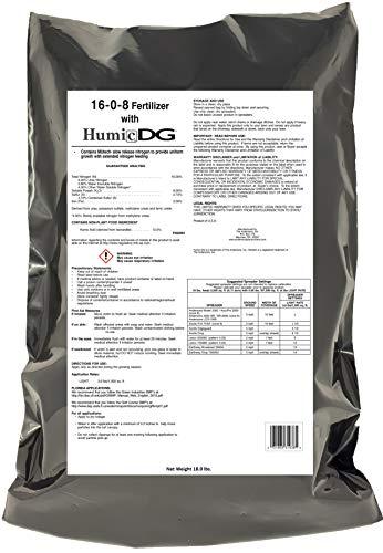 Lawn Fertilizer - The Andersons PGF 16-0-8 Fertilizer with Humic DG 5,000-sq
