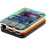 Only For Raspberry Pi 3 Model b Case ラズベリーパイケースヒートシンク(Pi 3専用)7層マルチカラー