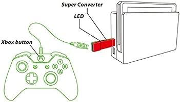Gam3Gear Brook Xbox One Xbox 360 a SW Adaptador de ...