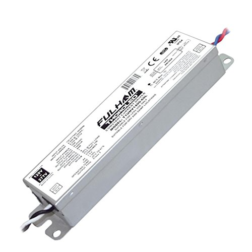 60w Single Channel - Fulham Lighting T1UNV1400-60L ThoroLED-Single Channel Universal Voltage Input-1400mA Constant Current Output-Max 60W-Linear Case-IP64 LED Driver