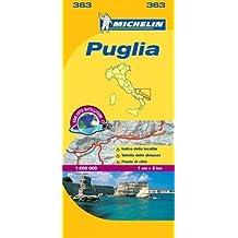 Puglia 363 N.E. - Carte ville loc.
