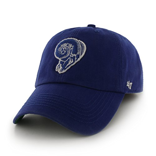 Blue Franchise Hat - NFL St. Louis Rams Franchise Fitted Hat, Small, Royal