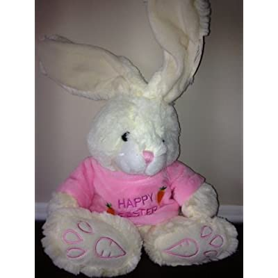 "American Greetings Easter Bunny Rabbit 'Pink' 10"" Plush: Toys & Games"
