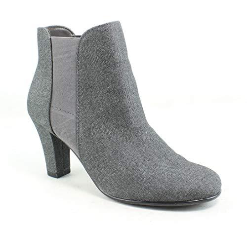 Aerosoles A2 Women's Strole Along Ankle Boot Grey Wool 7.5 M US
