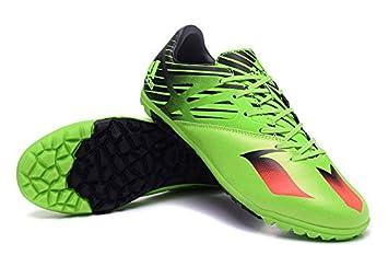 jensity Zapatos Genérico para hombre Messi 15 3 tf Botas de fútbol, hombre, amarillo, 43: Amazon.es: Deportes y aire libre