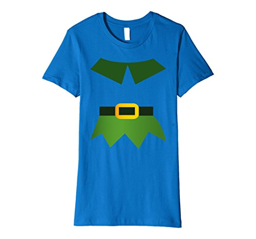 Christmas Elf Costume Ideas (Womens Christmas Costume Elf Funny Idea Shirt Gift Small Royal Blue)