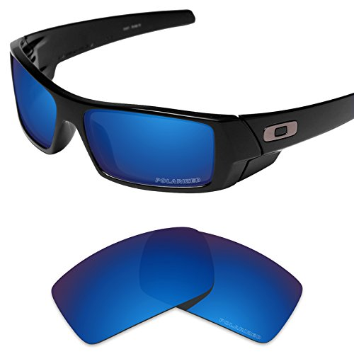Tintart Performance Lenses Compatible with Oakley Gascan Polarized Etched-Sapphire Blue ()