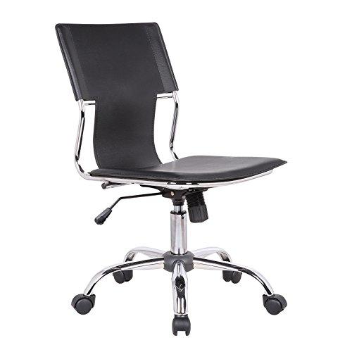 Porthos Home Adjustable Ellyn Office Chair, Black