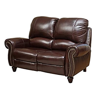 Amazon Com Homelegance Double Reclining Loveseat Brown