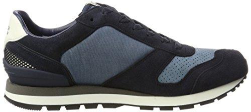 da 1c1 inchiostro Jeans B2385aron uomo blu sneakers bianco basse Tommy HXvAgn