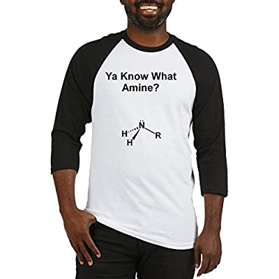CafePress - Ya Know What Amine (1200x1500) Baseball Jersey - Cotton Baseball Jersey, 3/4 Raglan Sleeve Shirt
