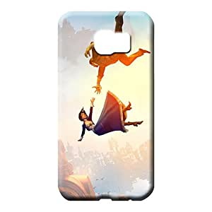 samsung galaxy s6 cell phone carrying skins Special Protection trendy bioshock infinite falling