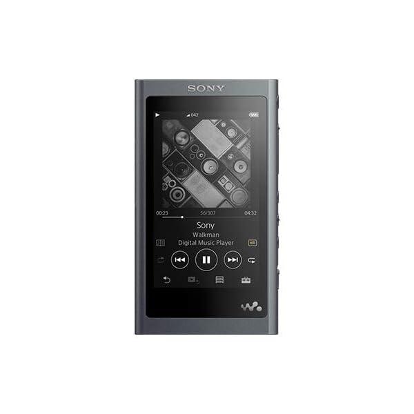 Sony NW-A55 16GB High-Resolution Digital Music Player Walkman Grayish Black(International Version/Seller Warranty) 3