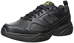 New Balance Men's Mid626v2 Work Training Shoe, Black, 7.5 4e Us