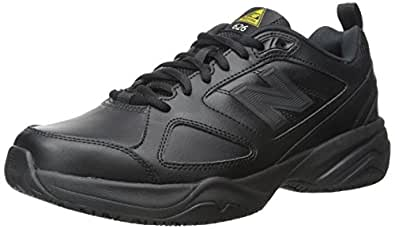 New Balance Men's MID626v2 Work Training Shoe, Black, 7 D US