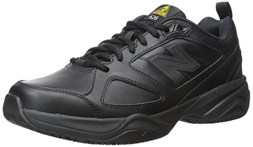 New Balance Men's MID626v2 Work Training Shoe, Black, 7.5 D US